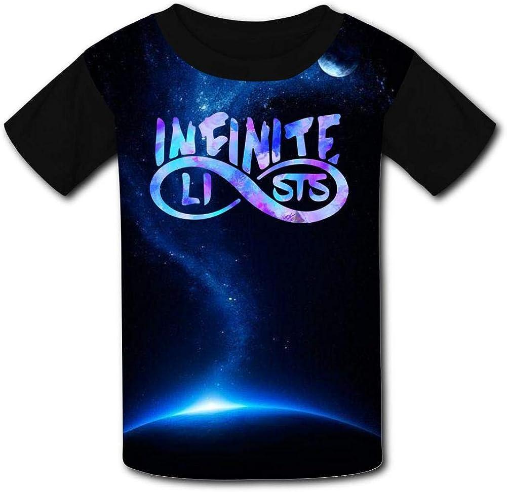 Youth Shirts Infinite-Lists Boys Girls Tee Shirt Teenager Youth T-Shirts Top