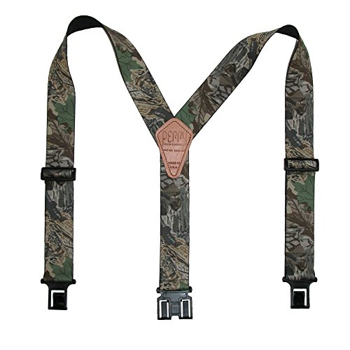 "Perry Suspender Men's 1.5"" Elastic Original Adjustable Suspenders"