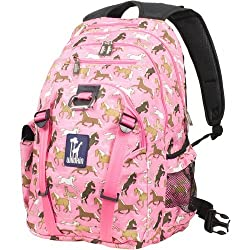 Wildkin Kids Serious Backpack for Boys and Girls, Perfect Size for Elementary, Middle, and Junior High School, Fits Laptops up to 17 Inches, Patterns Coordinate with Our Lunch Boxes and Duffel Bags
