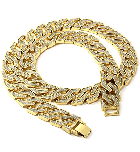 - Mens Gold Wide 30
