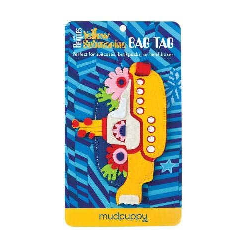 Price comparison product image Mudpuppy The Beatles Yellow Submarine Bag Tag