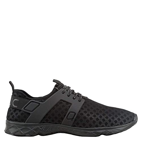 21587b682913 Dude Shoes Hey Men s Mistral Total Black Airflow Trainer Swimming Shoes Beach  Shoes  Amazon.co.uk  Shoes   Bags