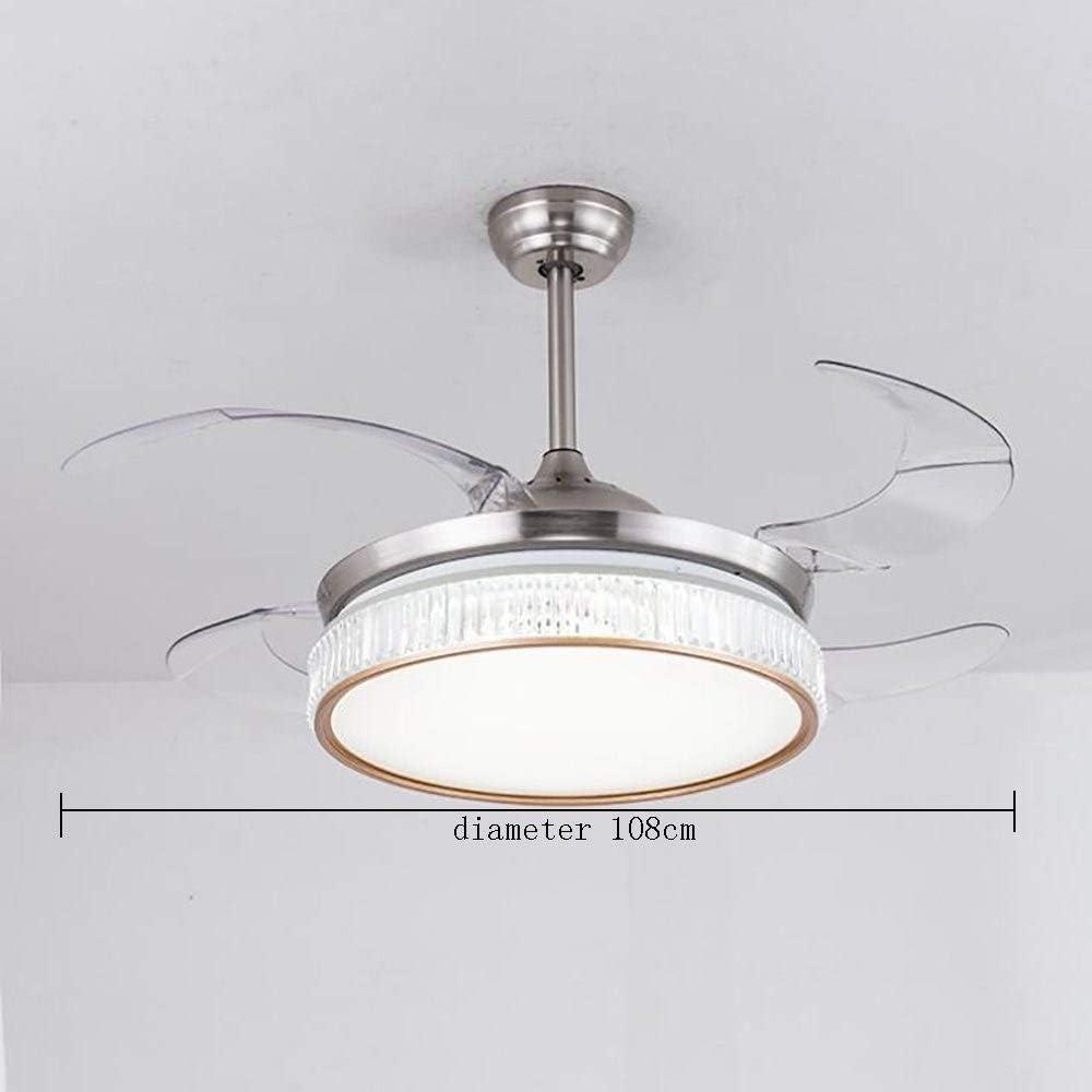 XH Llevó la luz del Ventilador de 42 Pulgadas Ventilador de Techo ...