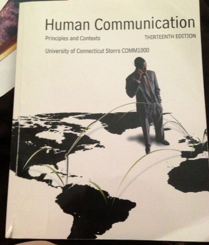 principles of human communication Spring 2003 unit i: principles of communication notes for chapters 1, 2, 9, 10 and 6 chapter 1 foundations of human communication communication characteristics n communication is inescapable n communication is irreversible n communication is complicated n communication emphasizes content and relationships n communication is governed by rules.