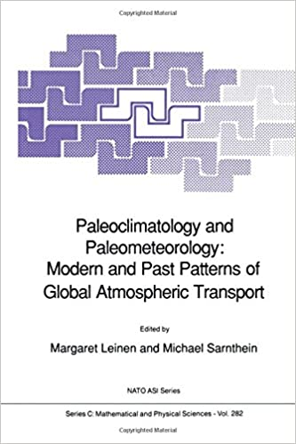 Paleoclimatology and Paleometeorology: Modern and Past Patterns of Global Atmospheric Transport (Nato Science Series C:)
