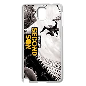 games Infamous Second Son Game Samsung Galaxy Note 3 Cell Phone Case White 91INA91306722