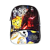 Star Wars BB8 Children's Backpack - School Carry-On Hiking - Blue