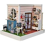DIY Wooden Dolls House Handcraft Miniature Kit- Cindys Happy Hour Model & Furniture