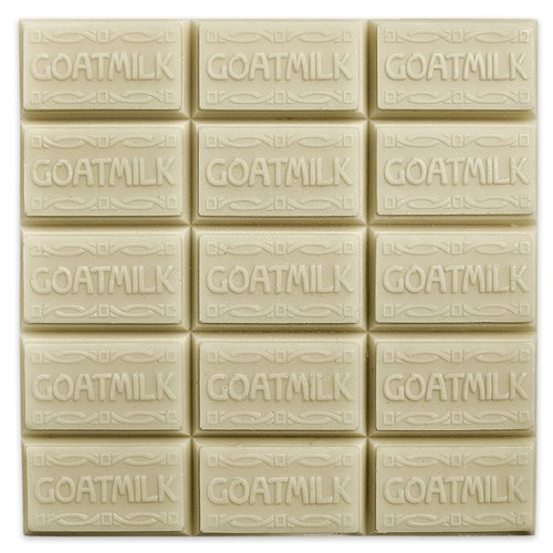 Goat Milk Guest Soap Mold (MW 09) -  Milky Way. Melt & Pour, Cold Process w/ Exclusive (Goat Milk Soap Mold)