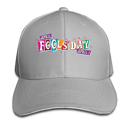 Baseball Cap Funny Fools' Day Unisex Sporting Cotton Cap Adjustable Plain Hat Sun Outdoor Snapback Hat Ash (Halloween Prank In The Hood)