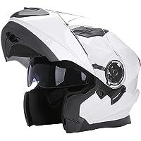 Woljay Flip Up Helm Motorfiets Full Face Helmen Racing Off Road Street Fietshelm