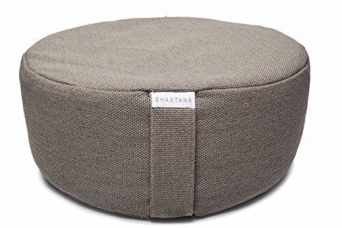Shastana XL Extra-Large Tall Meditation Pillow Floor Cushion Zafu ...