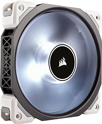 Corsair ML120 Pro LED, White, 120mm Premium Magnetic Levitation Cooling Fan CO-9050041-WW (Renewed)