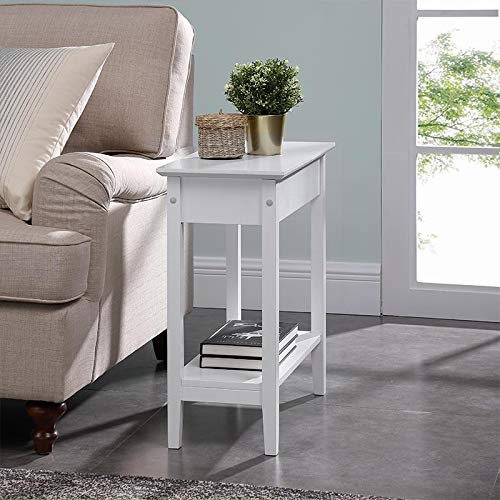 Top Table Flip Dining (Naomi Home Roxy Flip Top Chairside Table White)