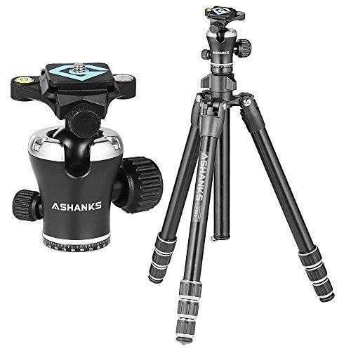 ASHANKS 55'' Camera Travel Tripod and Monopod Lightweight Al