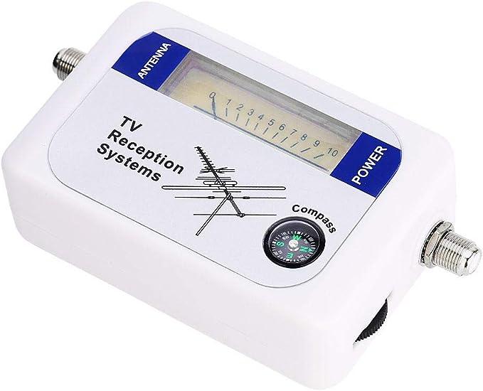 Ccylez Buscador de satélite, Mini DVB-T Buscador de señal ...