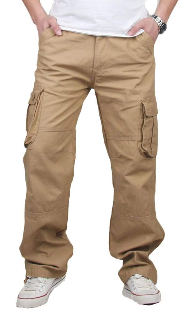 CATERTO Men's Spring Cargo Long Pants Outdoor Wear Lightweight Zoe