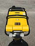 "CORMAC, RM75 Tamping Rammer gasoline @ 6.5 Hp, shoe size: 13.5""x"