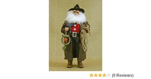 Amazon.com: crakewood cowboy santa: home & kitchen