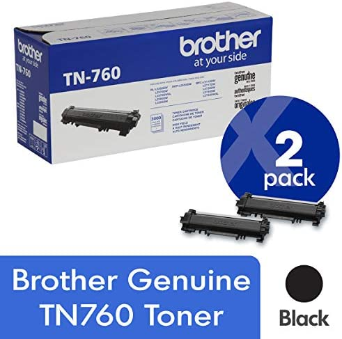 Brother Genuine TN760 Cartridge Approximately