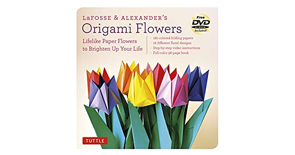 Amazon.com: LaFosse & Alexanders Origami Flowers Kit ...