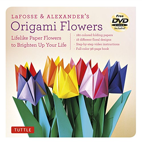 LaFosse & Alexander's Origami Flowers Kit: Lifelike Paper Flowers to Brighten Up Your Life: Kit with Origami Book, 180 High-Quality Origami Papers, 20 Projects & - Beautiful Blog Life
