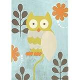 Oopsy Daisy Hootie Owl by Sally Bennett Canvas Wall Art, 10 by 14-Inch