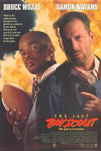 POSTER-LAST BOY SCOUT,THE