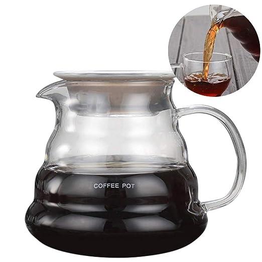 Gesteam Cafetera Mango Cómodo 800Ml / 600Ml / 360Ml Teteras de ...