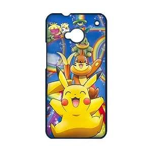 Cute Pokemon Pocket Monster Pikachu Custom Design HTC ONE M7 Hard Case Cover phone Cases Covers