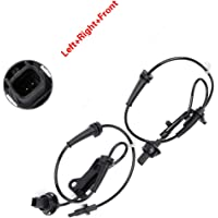 LSAILON 2PCS Left+Right+Rear ABS Speed Sensor Replacement for 2012-2015 Mercedes-Benz C250 2008-2015 Mercedes-Benz C350 2008-2014 Mercedes-Benz C300