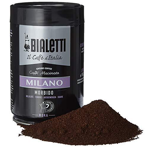 Bialetti Coffee, Moka Ground, Light Roast, Milano, Italy Signature 100% Arabica...