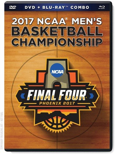 North Carolina Tar Heels 2017 NCAA Men's Basketball Championship DVD/Bluray Combo ()