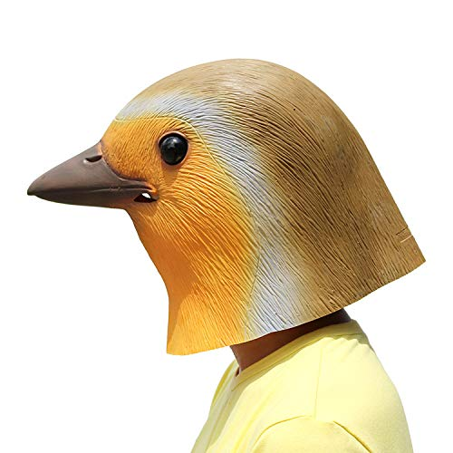 PartyHop Latex Robin Bird Mask]()