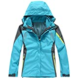 Hiking Clothing Outdoor Sport Windbreaker Skate Rain Coat Winter Ski Tech 3In1