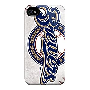 Defender Case For Iphone 4/4s, Milwaukee Brewers Pattern