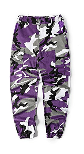 Purple Camouflage Pants - 5