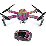 Skin For DJI Mavic – Magenta Summer | MightySkins Protective, Durable, and Unique Vinyl Decal wrap cover | Easy To Apply, Remove, and Change Styles | Made in the USA