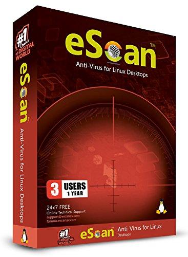 Antivirus for Linux Desktop 3 Users 1 Year