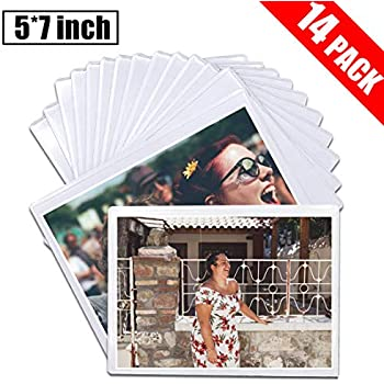 DIYSELF 14 Pack Magnetic Picture Frames for Refrigerator 5