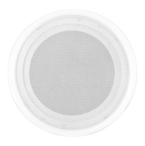 "8"" Ceiling Wall Mount Speakers - Full Range Woofer Speaker System 100 Volt Transformer Flush Design w/60Hz-16kHz Frequency Response 150 Watts Peak & Template for Easy Installation - Pyle PDICS82 by Pyle"
