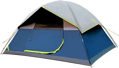 GEERTOP - Tienda de campaña portátil para 4 Personas para Camping al Aire Libre, Viajes, protección UV: Amazon.es: Deportes y aire libre