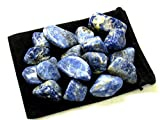 Zentron Crystal Collection: 1 Pound Tumbled Sodalite
