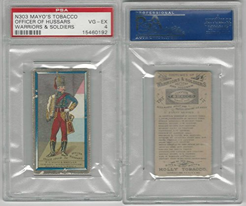 N303 Mayo, Costumes of Warriors & Soldiers, 1892, Officer Of Hussars, PSA 4 (Hussar Costume)
