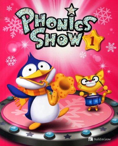 Phonics Show 1 - Alphabet Sounds: Student's Book with Audio CDs