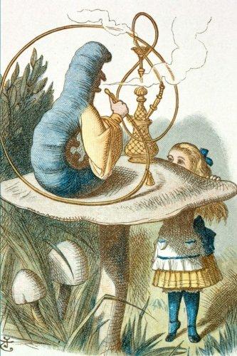 Alice & Caterpillar II: Alice in Wonderland & Caterpillar Dot Grid Journal