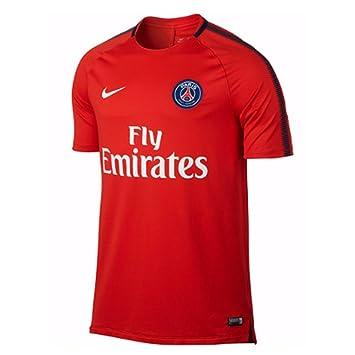 Nike Mens Paris St. Germain 2017/18 Squad Training Jersey, Large