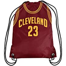 Cleveland Cavaliers LeBron James #23 Official Drawstring Gym Backpack