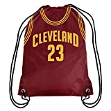 NBA Cleveland Cavaliers Lebron James Drawstring Backpack, 18 In. X 13.5 In.