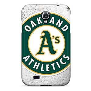 Great Hard Cell-phone Cases For Samsung Galaxy S4 With Custom HD Oakland Athletics Skin TimeaJoyce